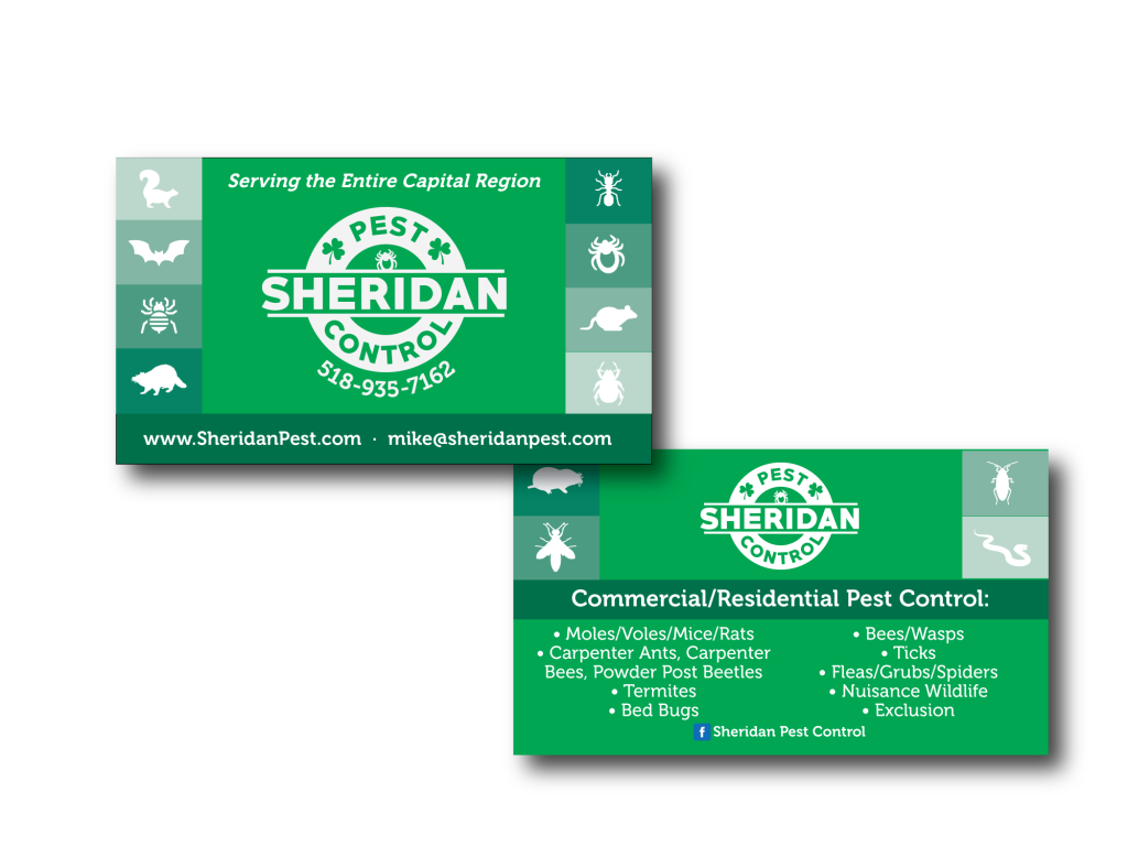 Sheridan Pest Business Cards